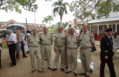 Onthulling Monument Suriname 2013